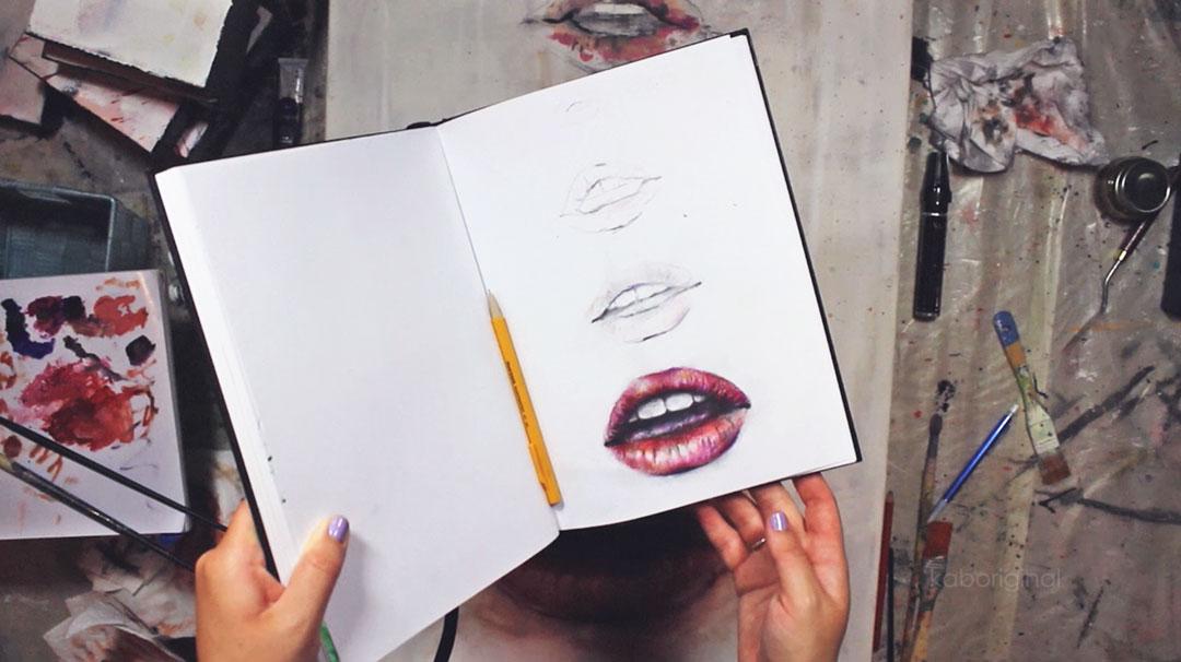 sketchbook to canvas kaboriginal